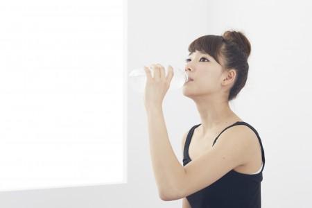 水をおいしく飲む