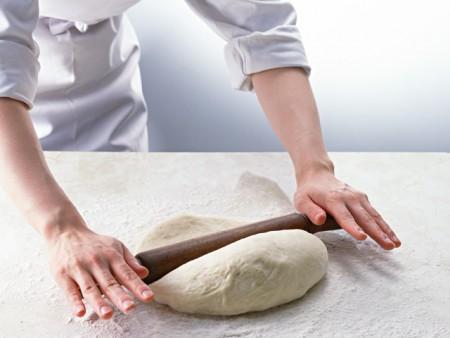 パンの種類によってお水も使い分ける