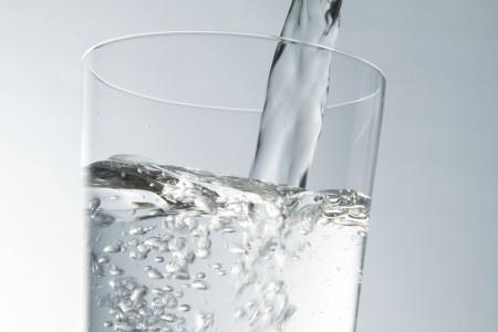 常温のお水