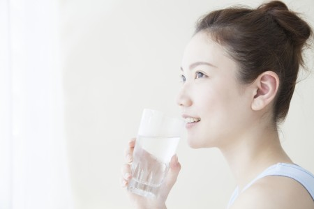 デトックス効果のある常温水